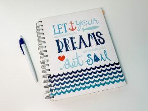 Visualize Your Ideal Lifestyle in a journal